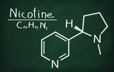 Nicotine to display one of the five negative effects of vaping