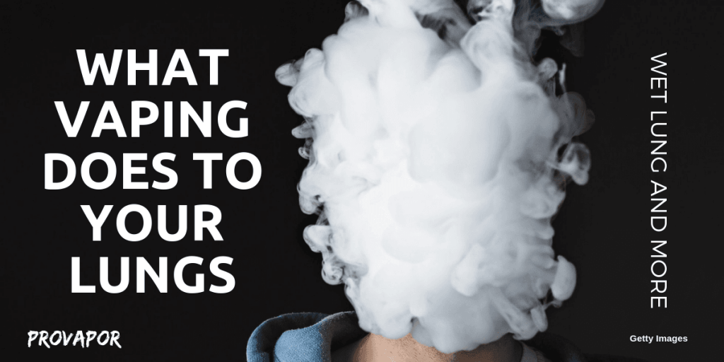 Banner What Vaping Does to your Lungs: Wet Lung and More