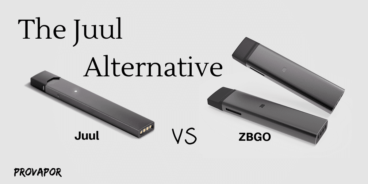 Zamplebox: ZBGO Vs Juul Comparison of Specifications and Price