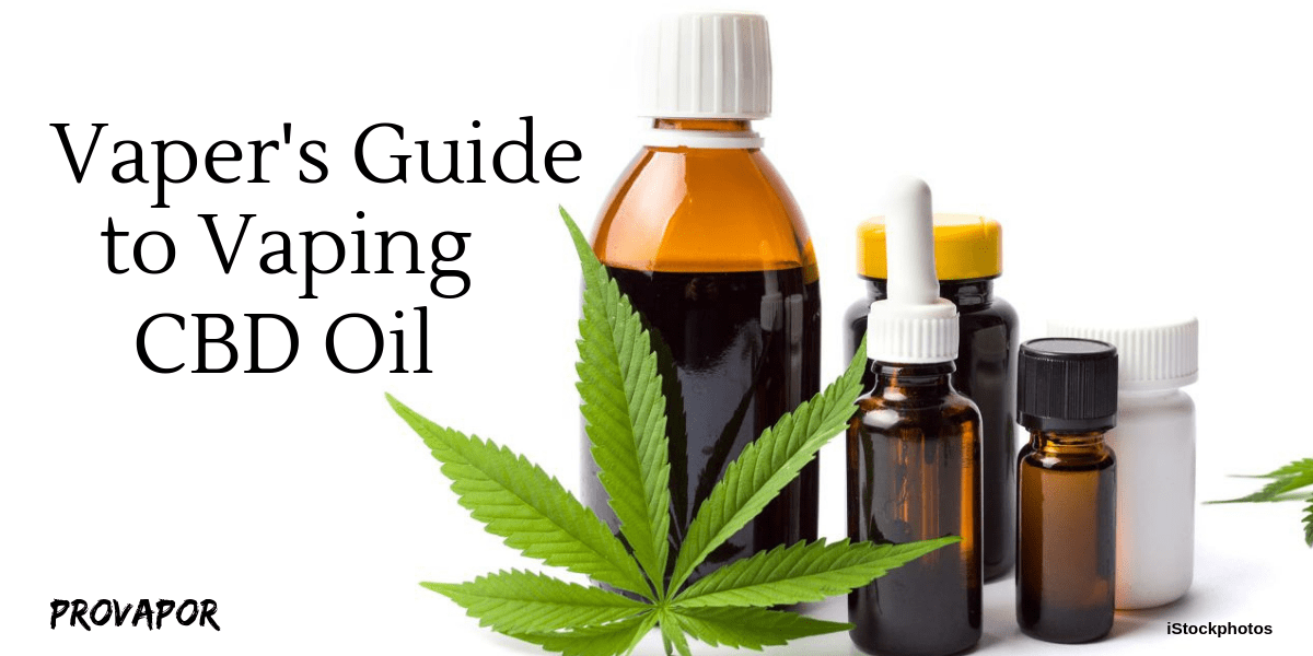 Vaper's Guide to Vaping CDB Oil