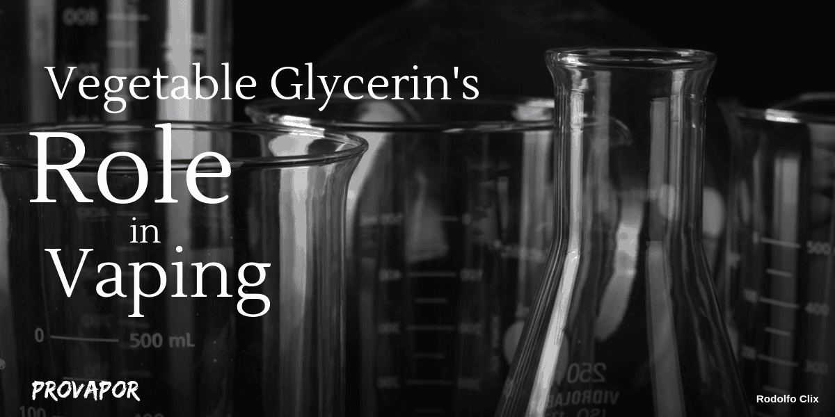 What is Vegetable Glycerin?